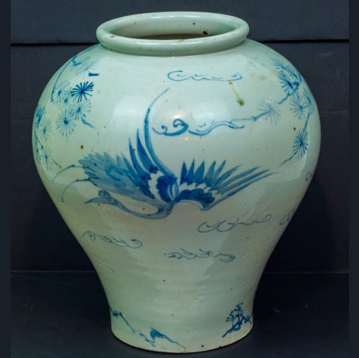 Antique Oriental Porcelain Jar
